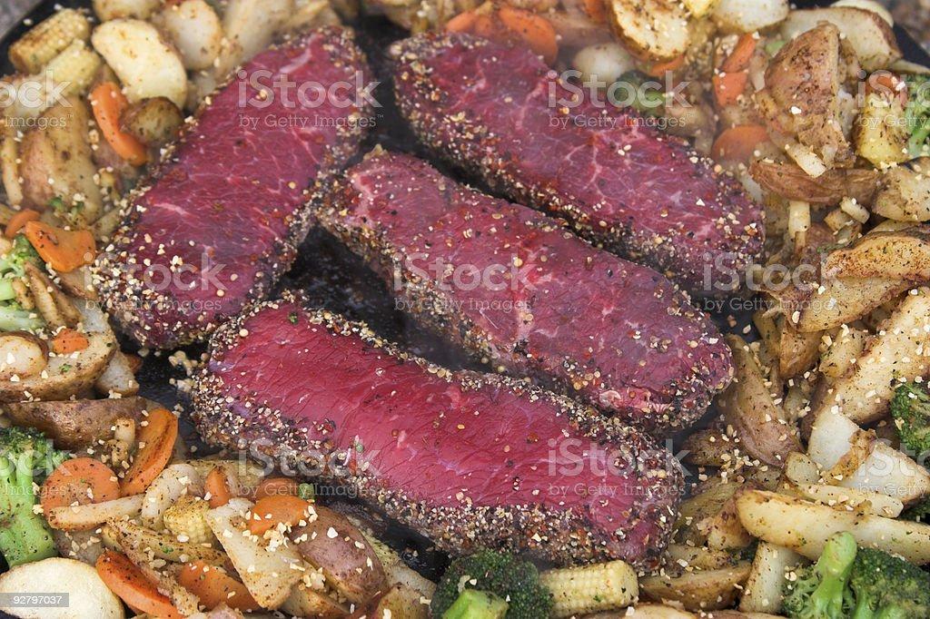 Delicious beef stock photo