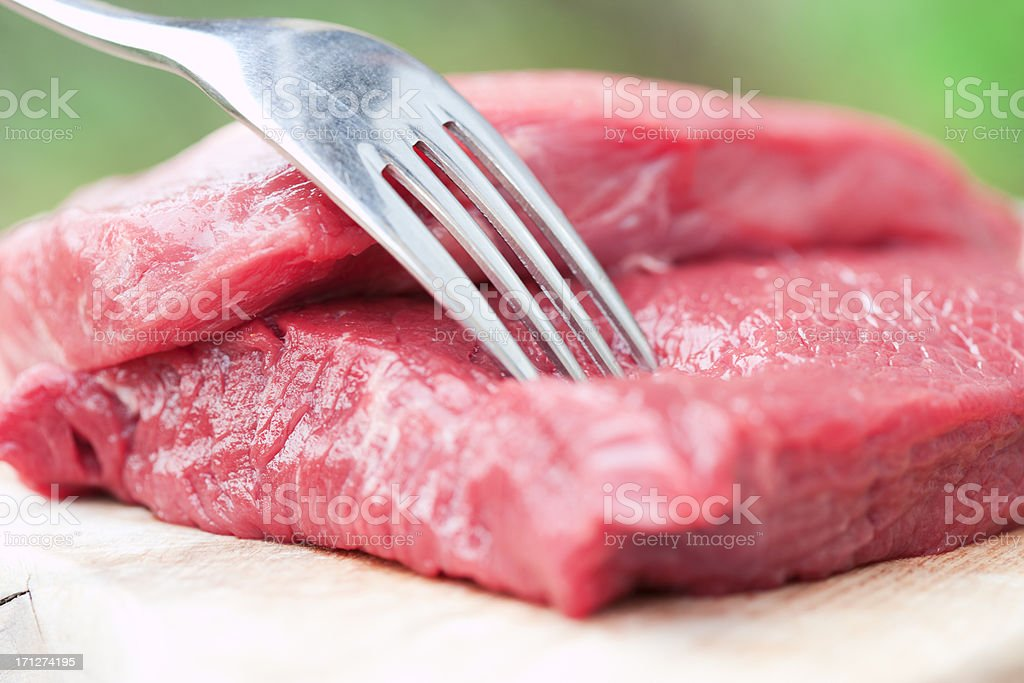 Delicious beefsteaks royalty-free stock photo