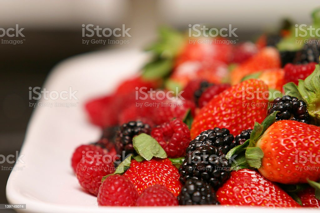 Delicious Berries royalty-free stock photo