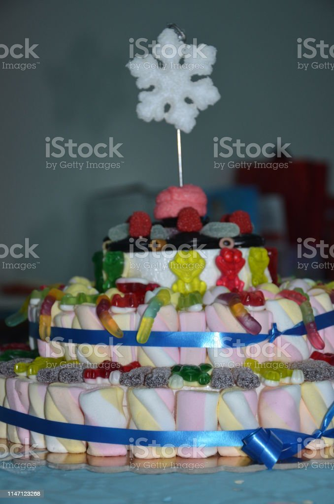Delicious Birthday Cake Stock Photo More Pictures Of Aging Process
