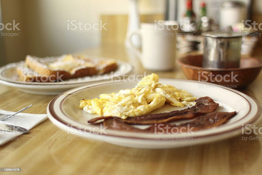 Delicious breakfast royalty-free stock photo