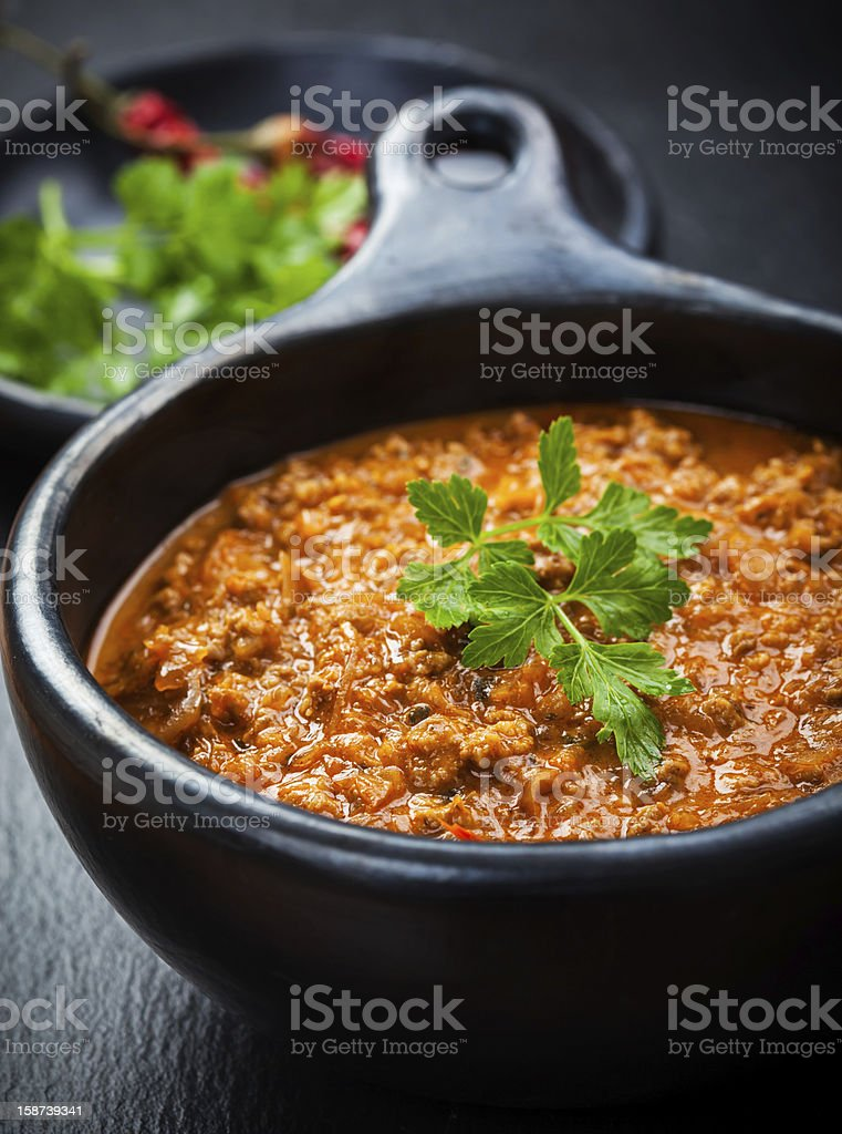 Delicious Cabbage soup royalty-free stock photo