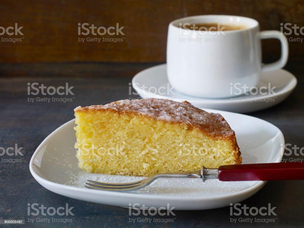 heerlijke taart en koffie foto