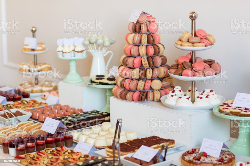 Delicious Candy Bar For Wedding Stock Photo Download Image Now