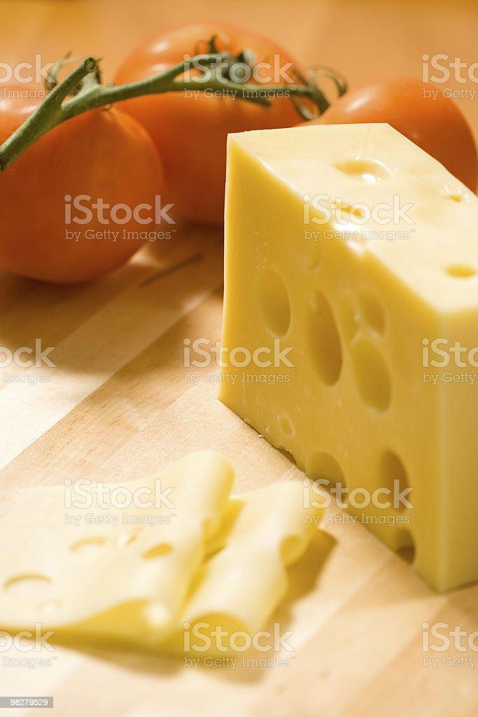 맛있었어요 치즈 royalty-free 스톡 사진