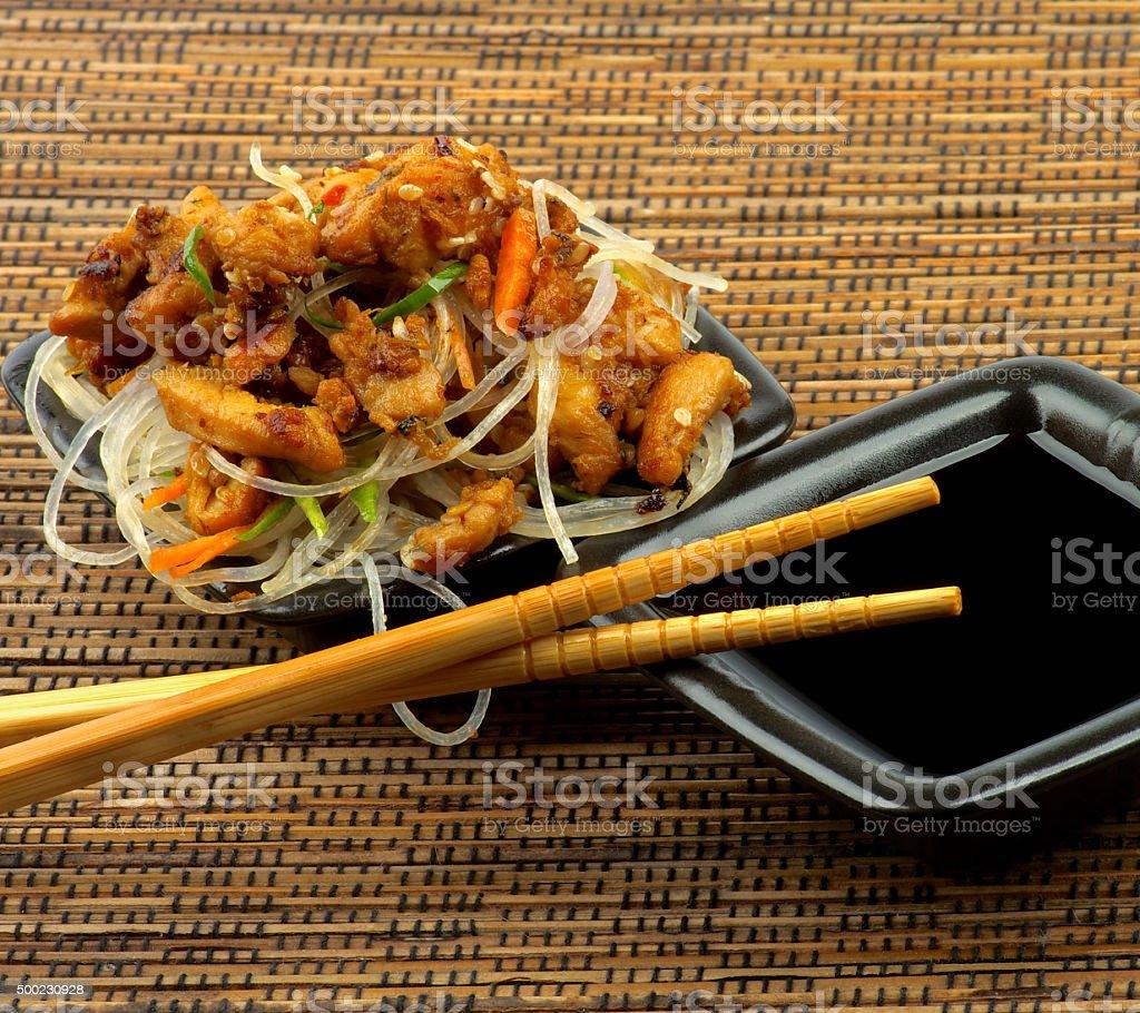 Delicious Chicken Teriyaki stock photo
