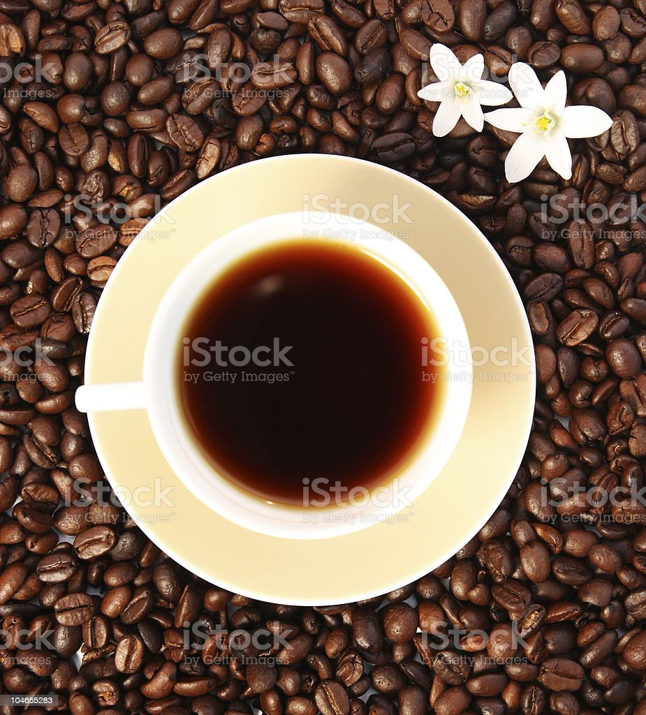 Delicious coffee royalty-free stock photo