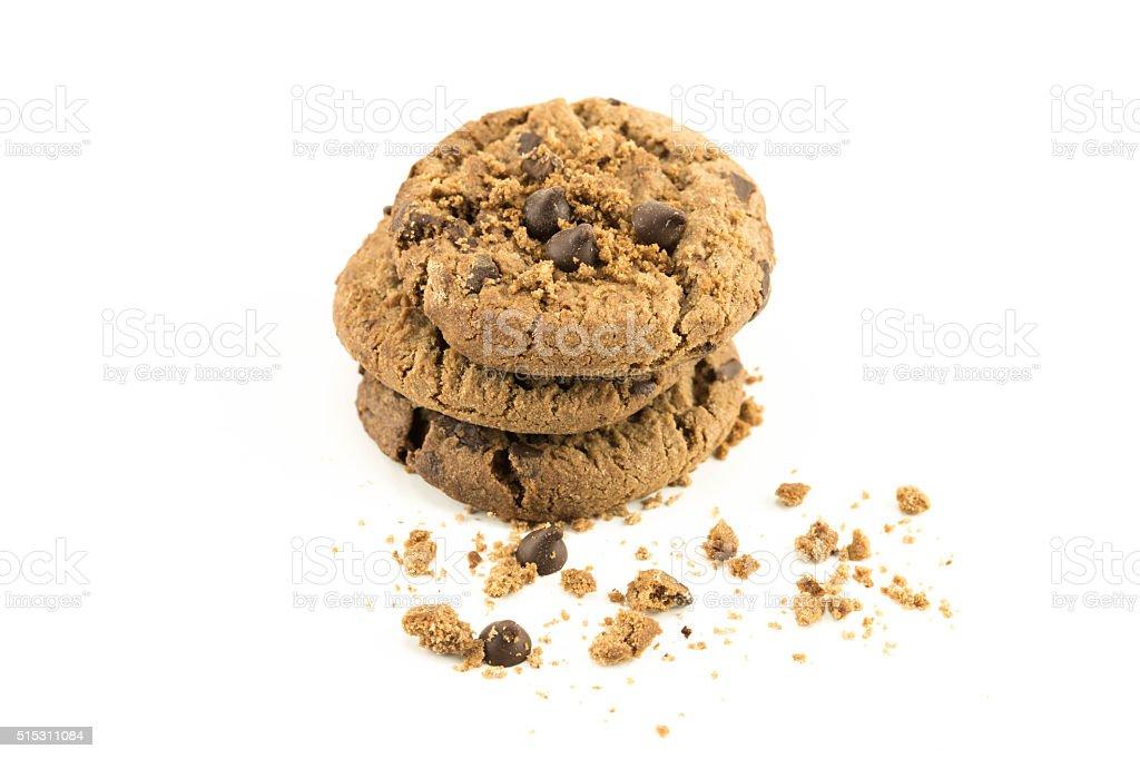 delicious cookies stock photo