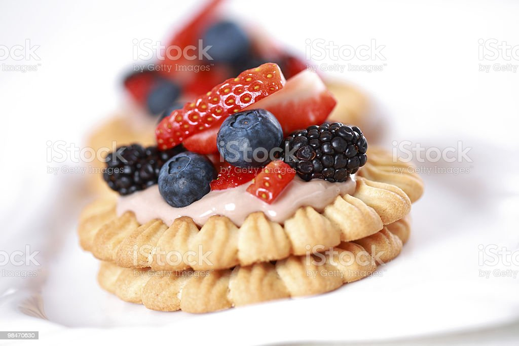 Delicious cookies royalty-free stock photo