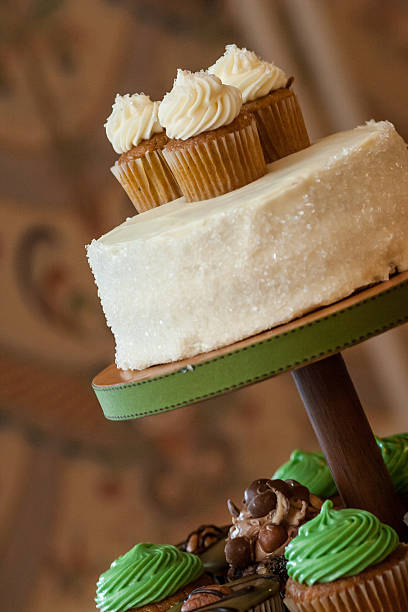 Delicious Cupcakes stock photo