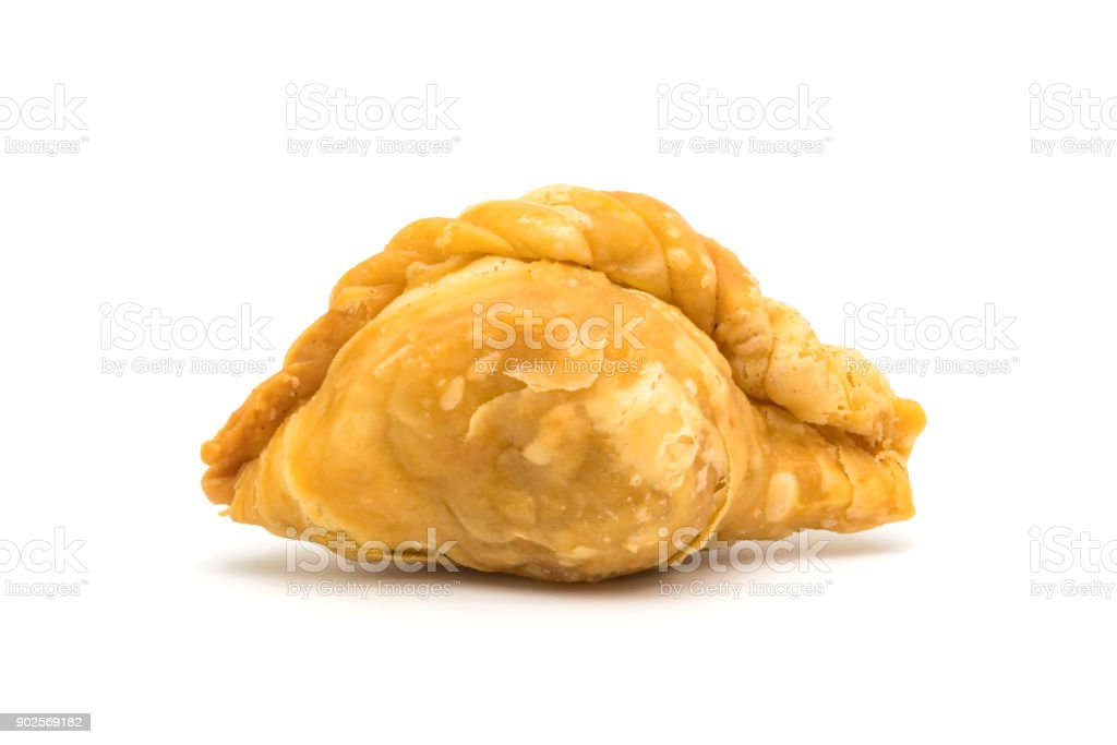 Delicious curry puff stock photo