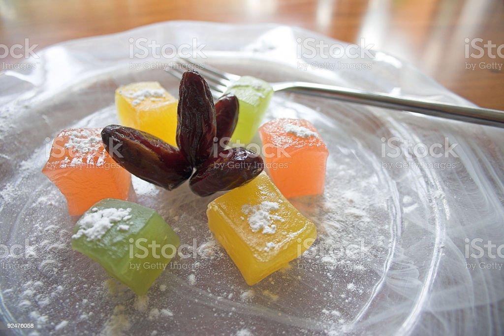 Delicious dessert royalty-free stock photo