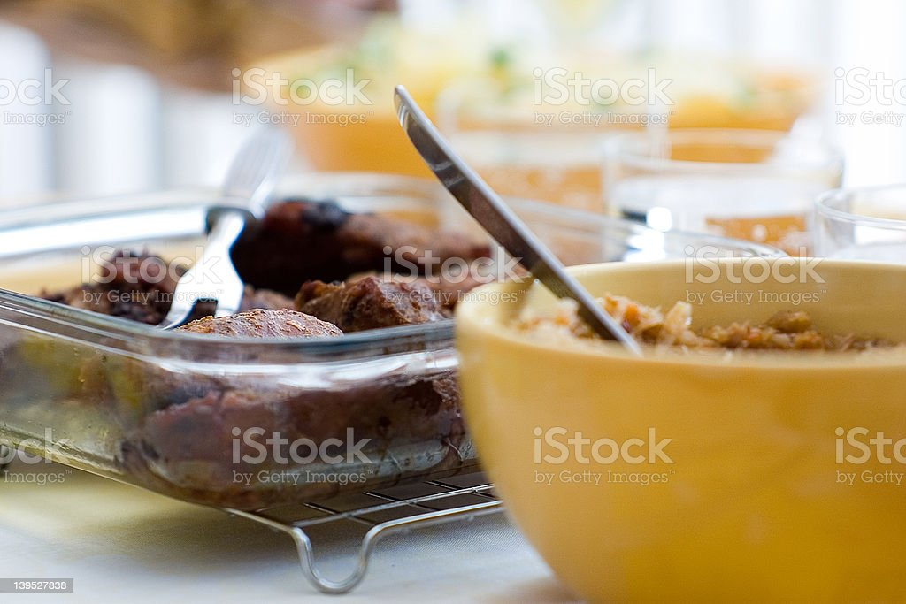 Delicious dinner... royalty-free stock photo