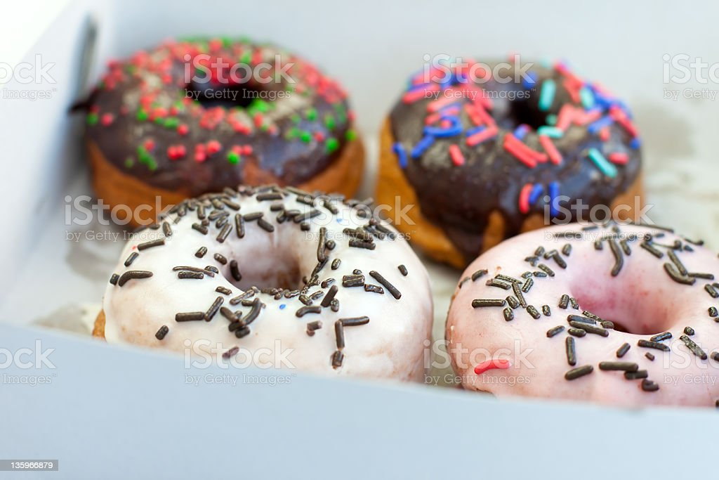 Delicious Donuts royalty-free stock photo