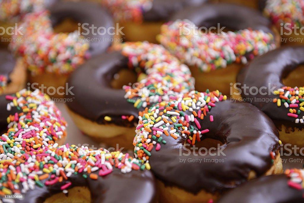 Delicious Donuts stock photo
