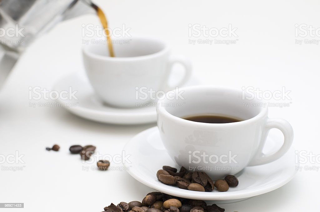 delicious espresso royalty-free stock photo