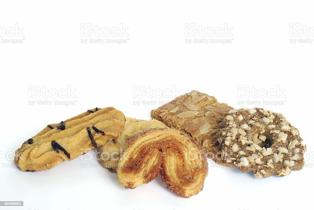 Delicious fancy cookies royalty-free stock photo