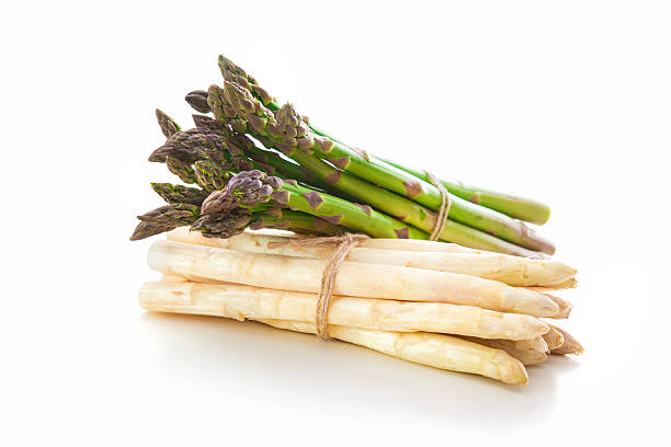 delicious fresh asparagus - asparagus stock pictures, royalty-free photos & images