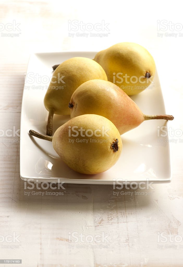 Delicious fresh pears royalty-free stock photo