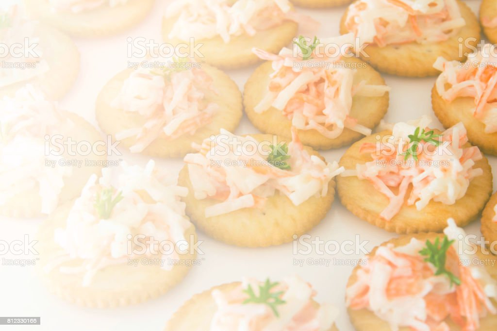 Delicious freshly cracker crab with color filters stock photo