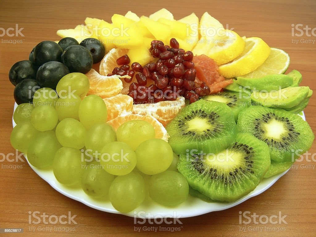Delicious fruits royalty-free stock photo