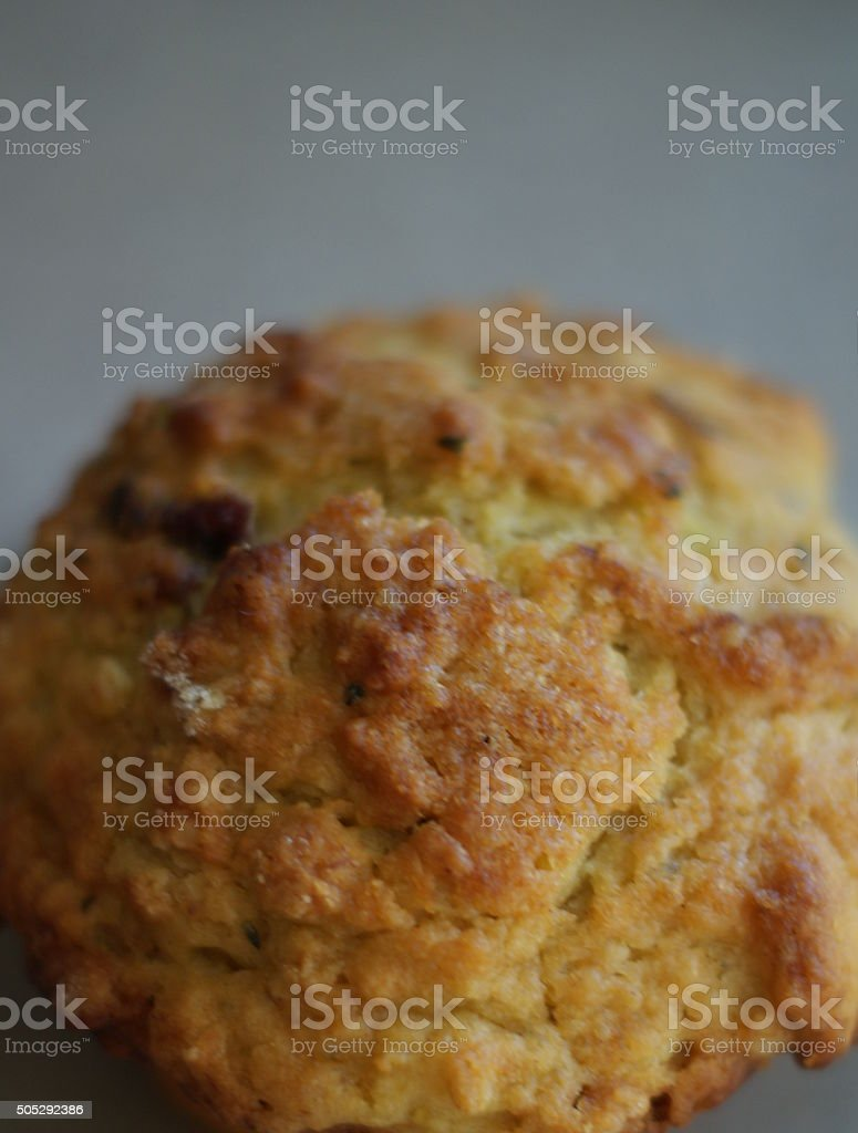 Delicious, Golden Muffin stock photo