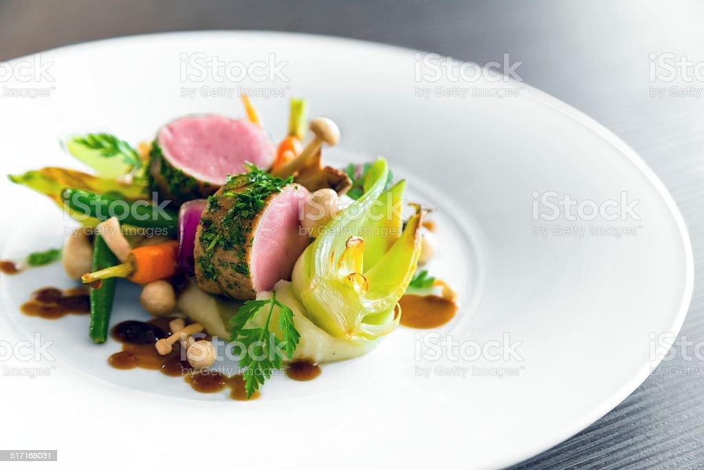 Delicieux Cuisine Gastronomique Photos Et Plus D Images De Agneau