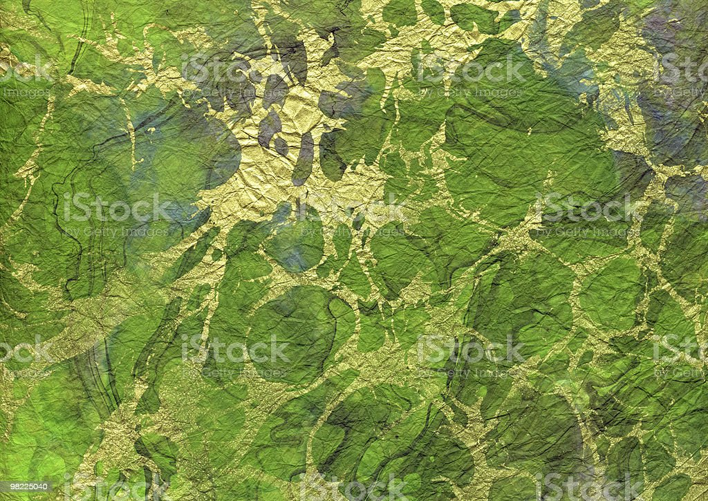 Delicious Green Paper XXL royalty-free stock photo