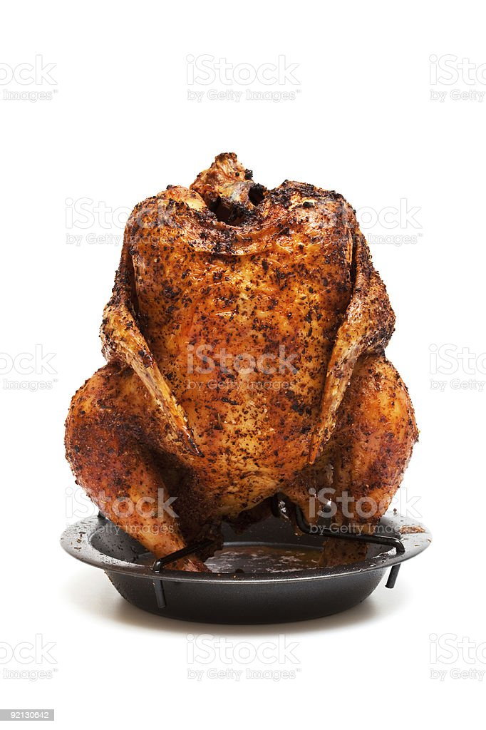 delicious grilled chicken royalty-free stock photo