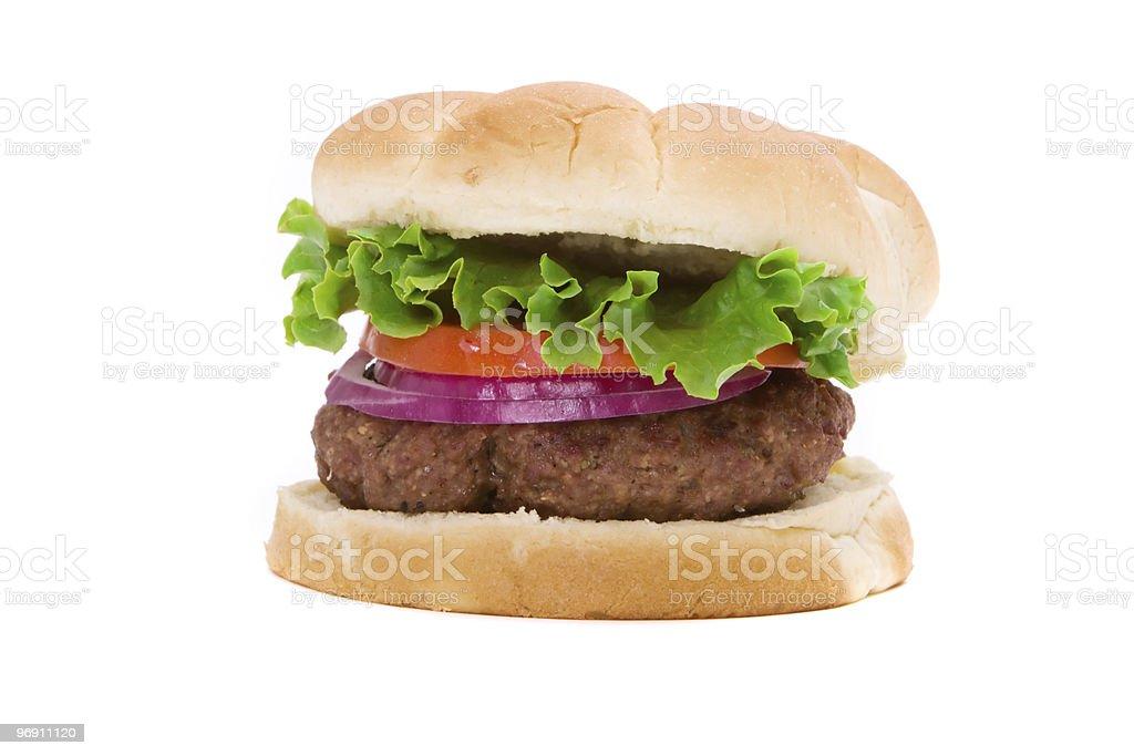 Delicious hamburger royalty-free stock photo
