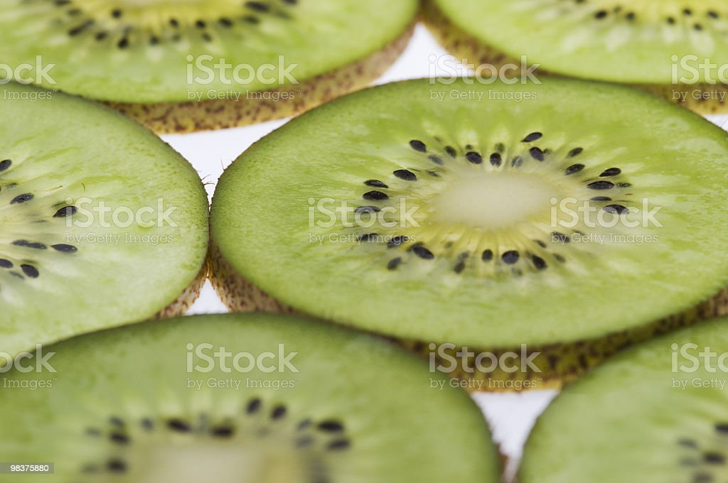 delicious Kiwi fruits royalty-free stock photo
