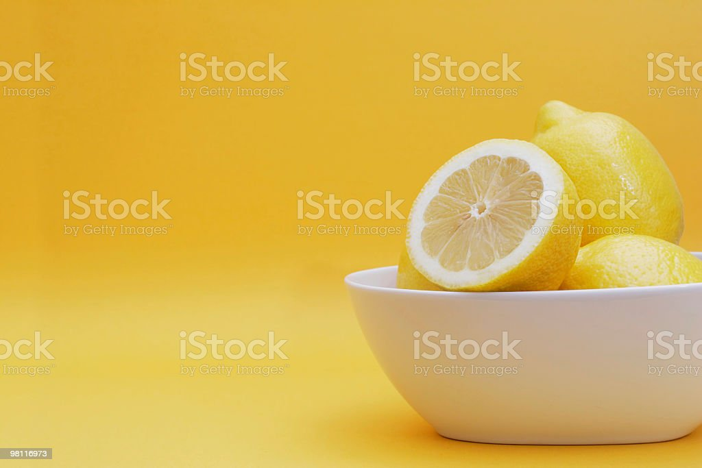 Delicious lemons royalty-free stock photo