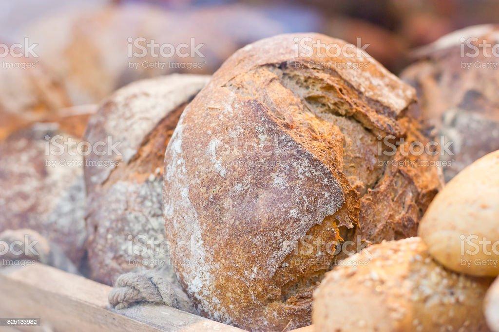 Delicioso pan pan - foto de stock