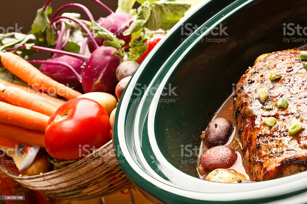 Delicious Looking Dinner stock photo