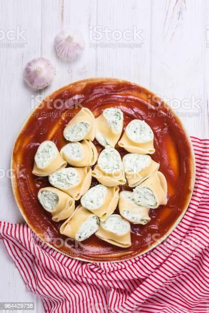 Foto de Lumaconi Deliciosa Refeição De Massa e mais fotos de stock de Almoço