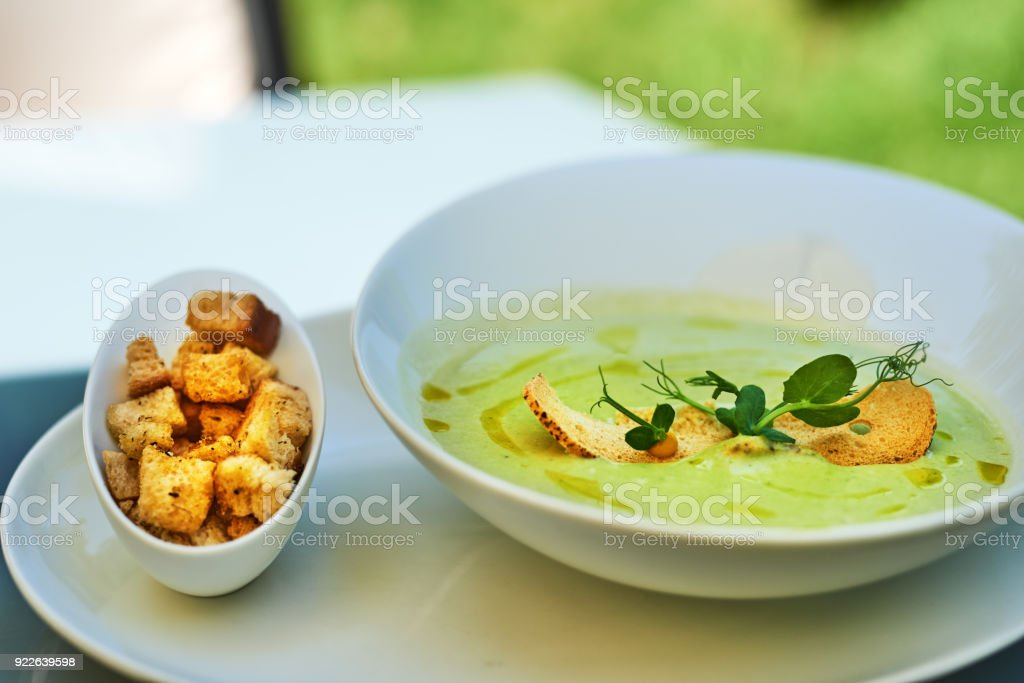 delicious lunch stock photo