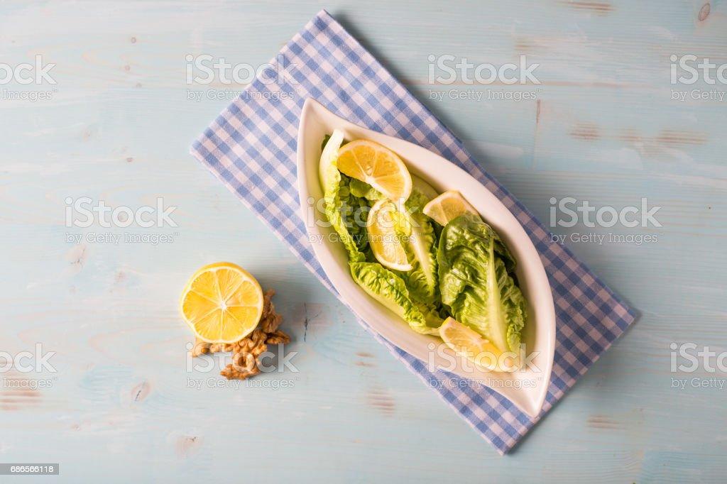 Delicious Mediterranean Salad royalty-free stock photo