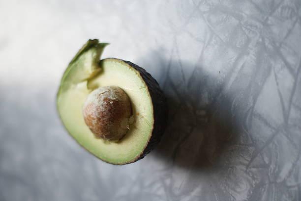 Delicious Mid-Century Avocado stock photo