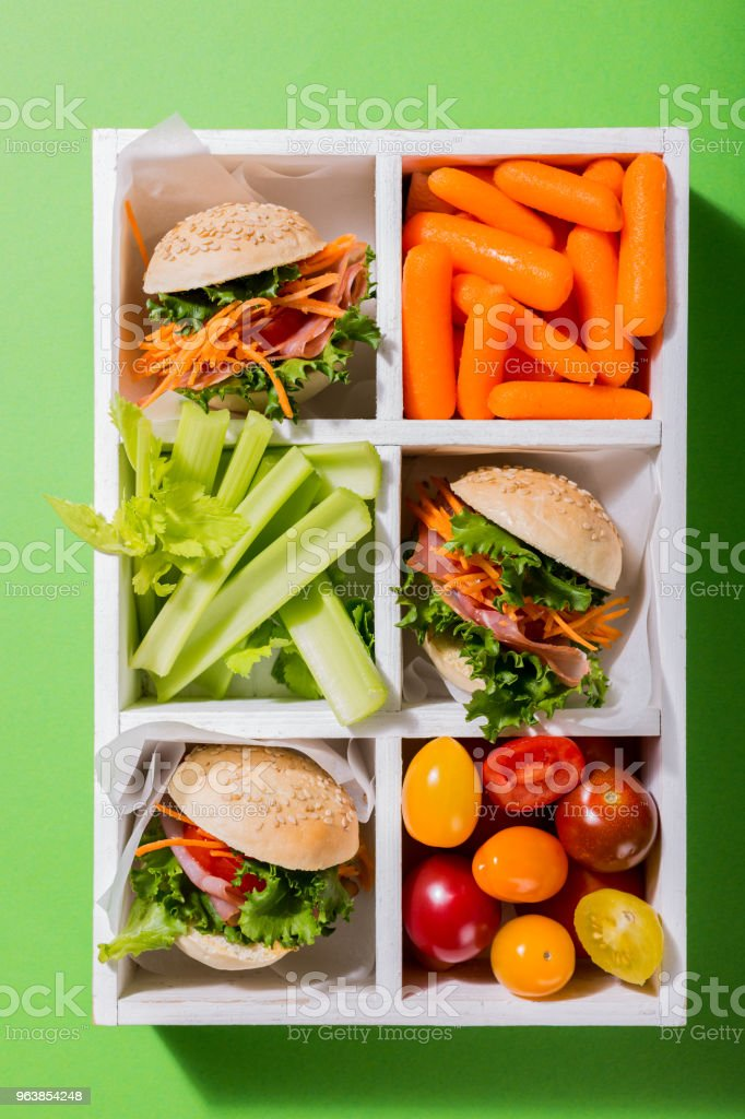 Delicious mini burgers - Royalty-free American Culture Stock Photo