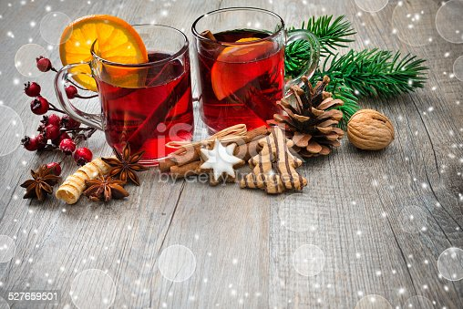 istock Delicious mulled wine 527659501