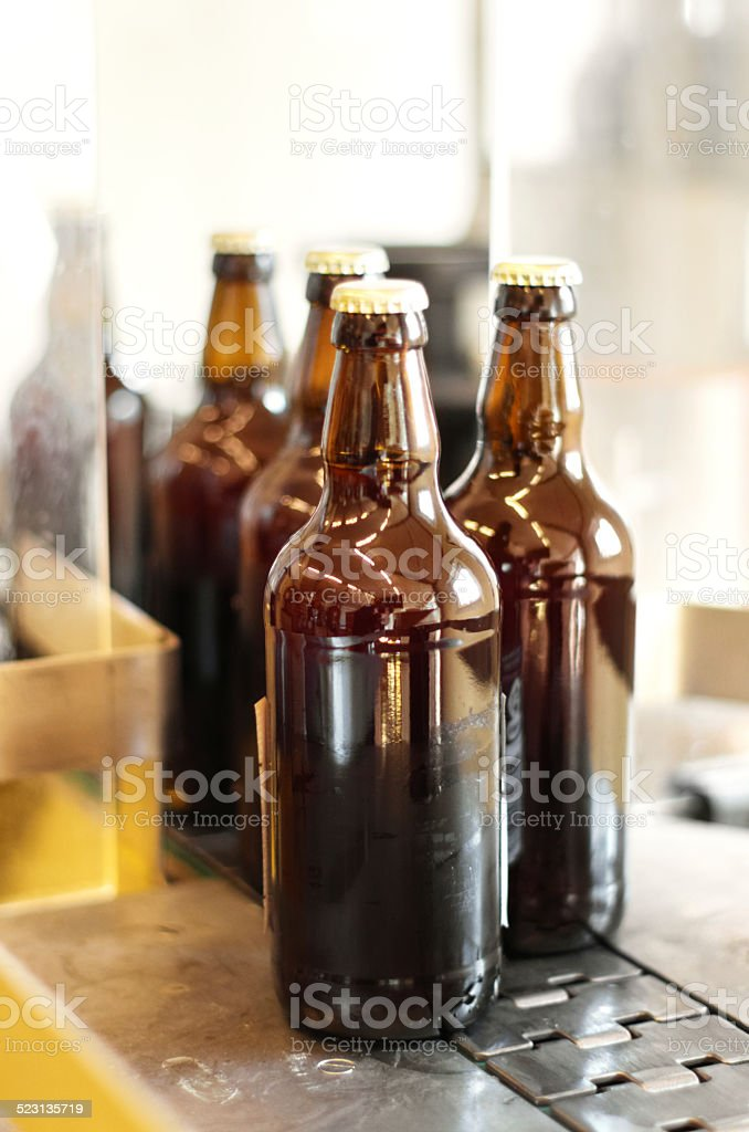 Delicious new brew stock photo