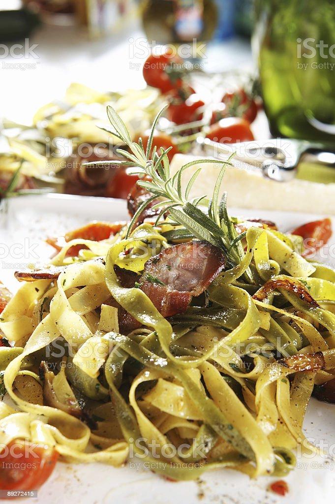 Delicious Pasta royalty-free stock photo
