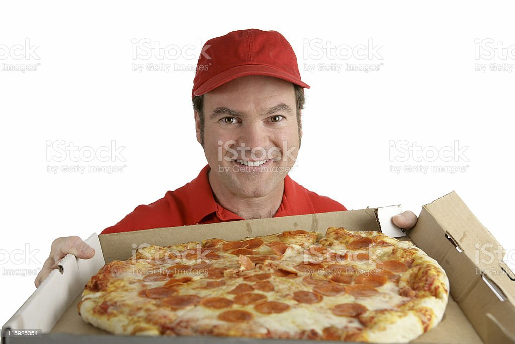 Delicious Pizza For You royalty-free stock photo