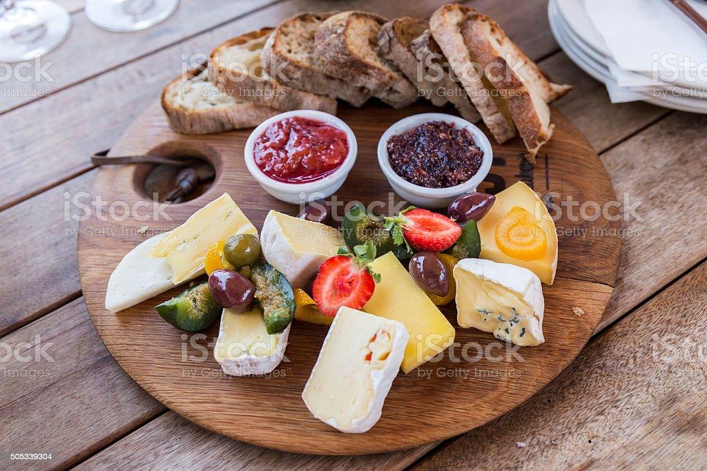 Assiette de délicieux - Photo