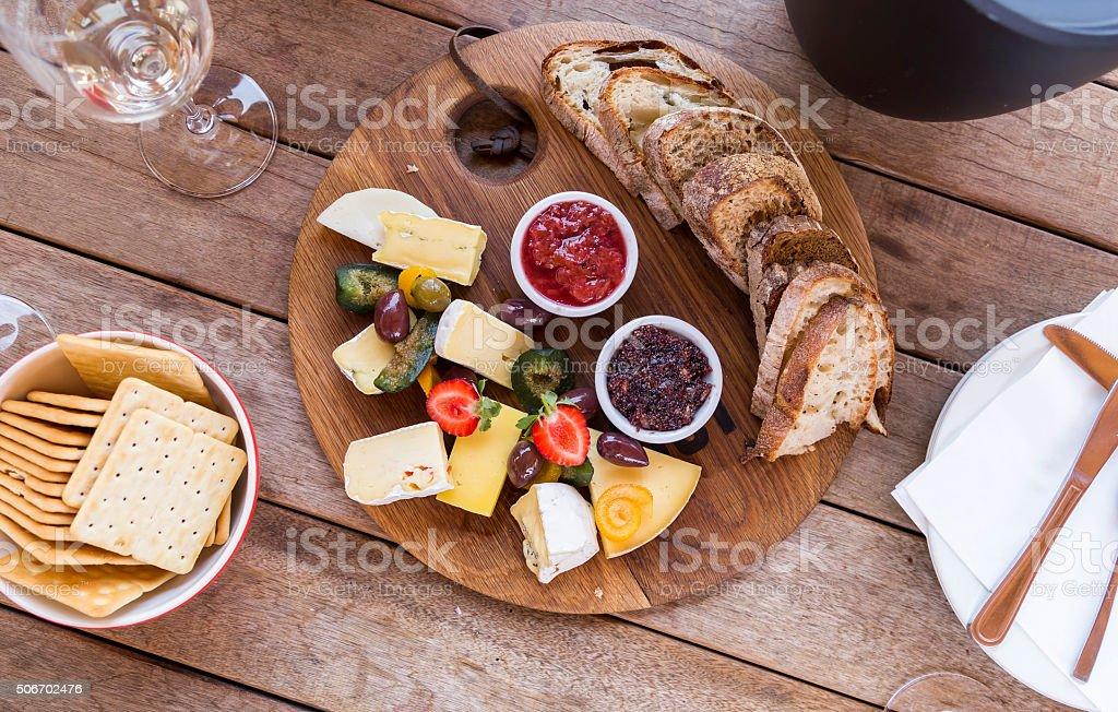 Delicious Platter stock photo