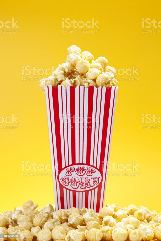 Delicious popcorn royalty-free stock photo