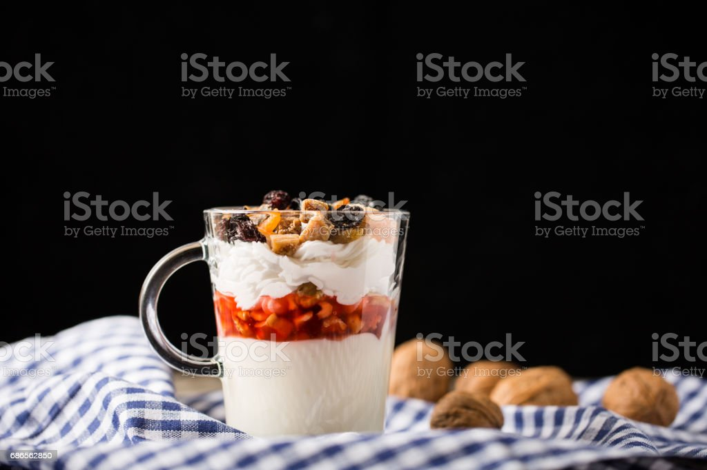 Delicious Pudding royalty-free stock photo