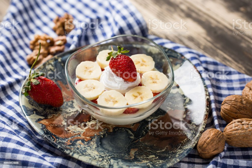 Delicious Pudding royalty free stockfoto