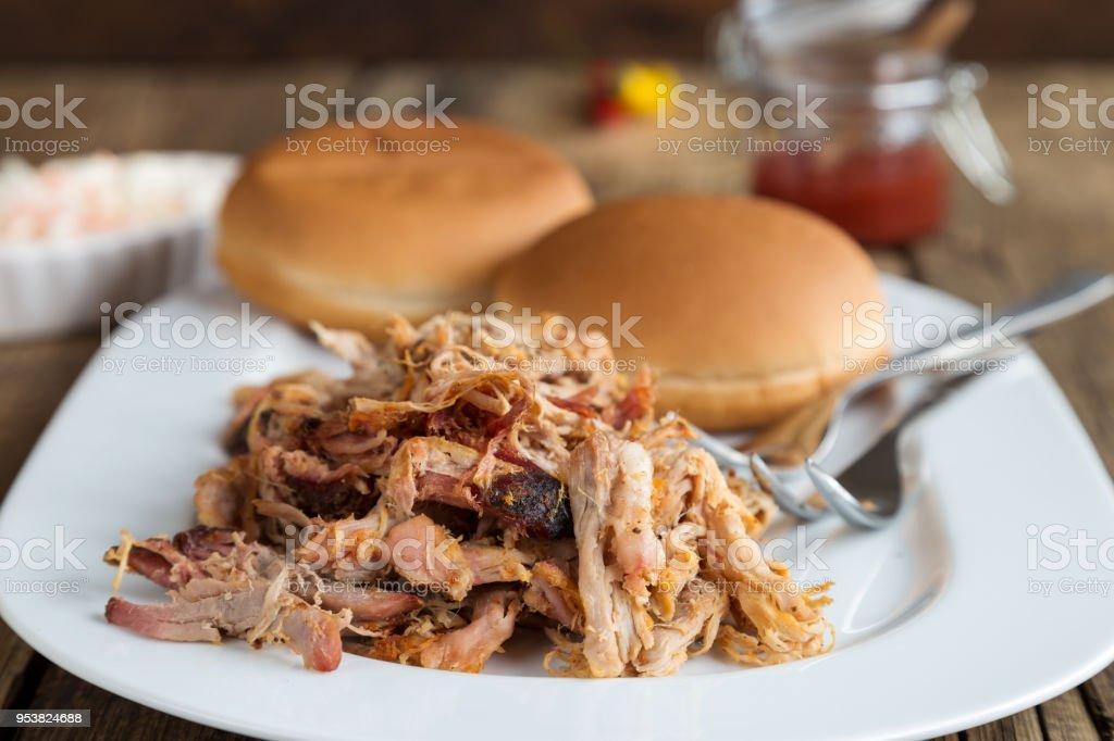 köstliche zog Schweinefleisch – Foto