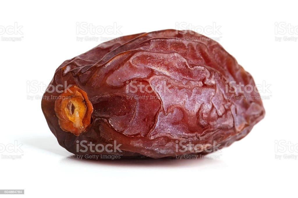 Delicious ripe jujube on a white background stock photo
